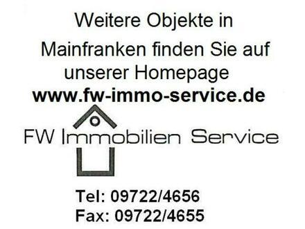Interessanter Bauplatz in Arnstein, OT Halsheim Kaufpreis ist VB