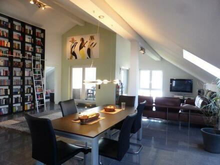 Exclusive lichtdurchflutete Penthousewohnung in Riegelsberg