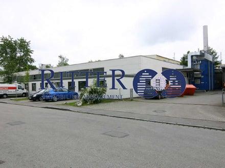 Gepflegte Gewerbeeinheit * Halle/Produktion/Service mit Büro - Gesamt ca. 1.800 m² * ab Januar 2020