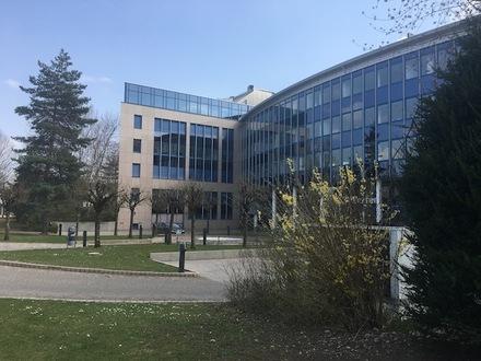 Provisionsfrei! Einzigartige Architektur im Gewerbegebiet Moosfeld, ca. 13.000 m² zur Vermietung