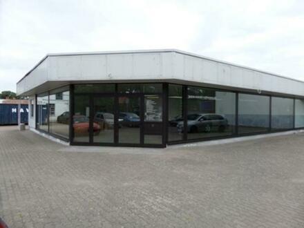 Autohaus direkt an der B 188 (Berlin-Stendal) in 14712 Rathenow zu verkaufen – vielfältige, gewerbliche Nutzung möglich