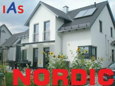 Neubau: Einfamilienhaus - Vollkeller mit Garage und idyllischer Fernblick inklusive!