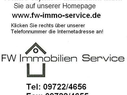 Attraktives Zweifamilienhaus mit Pfarrheim und Zwischengebäude in Geldersheim