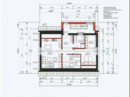 Neu umgebaute Wohnung im DG