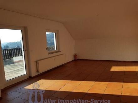 Großzügig aufgeteilte 2 - bis 3 - Zimmerwohnung mit Riesenterrasse in uninaher Wohnlage von Homburg