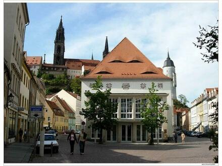 Meissen - Altstadt ... preiswerte große 1 Raum WE mit Balkon & Fahrstuhl
