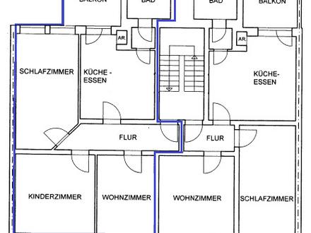Leben in der Hagener-Innenstadt! 82,11m² Mietwohnung