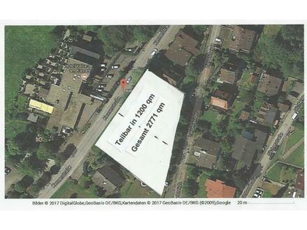 Bauplatz für Bauträger 16 Wohnungen oder Privat Bauplatz nach eigener Planung.
