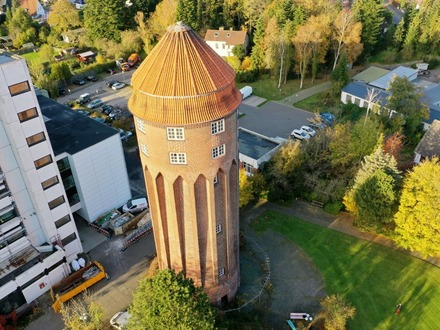 Restaurant/Bar - Historischer, atemberaubender Wasserturm in 25541 Brunsbüttel zu verkaufen.