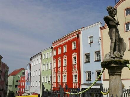 Schärding-Zentrum: neu errichtete Eigentumswohnungen mit Lift in top sanierten Altstadthäusern