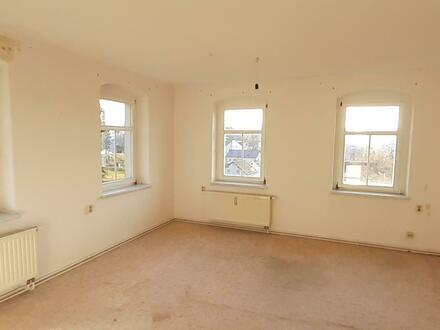 helle Drei-Zimmer-Wohnung in ruhiger Lage mit guter Fernsicht