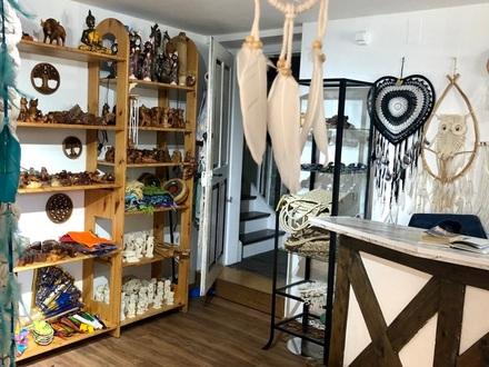 Laden auf der Insel Lindau