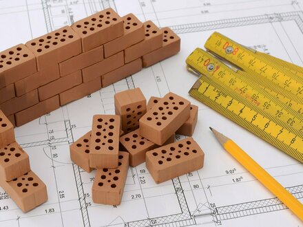 Bauvorhaben einer Doppelhaushälfte