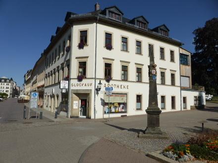 Teil eines Wohn- und Geschäftshauses (Apotheke) in Freiberg zu verkaufen! 1 A Lage