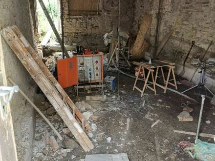 Entkerntes Altstadthaus