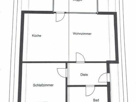 Dachgeschosswohnung in Oberhausen - Styrum zu verkaufen