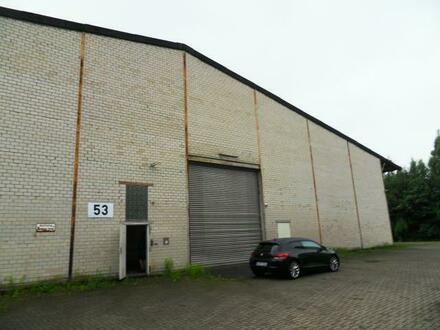 Freigestellt ! 3000m2 Gewerbefläche, Tageslicht- Gewerbehalle mit grossen Toren, direkt an der A 33, 49086 Osnabrück- V…