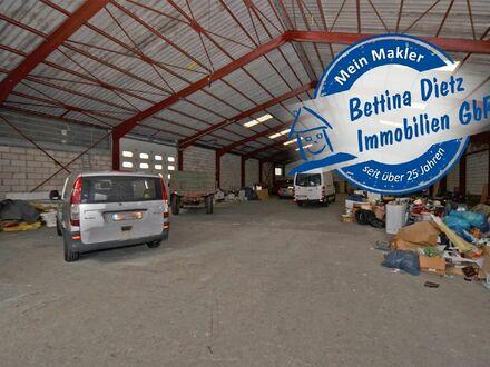 DIETZ: 800 qm Lager- und Produktionshalle zu vermieten