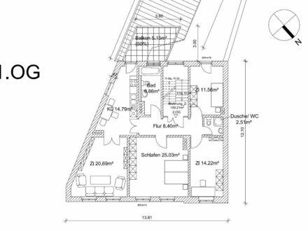 +++ großzügige Wohnung mit Balkon - Innenstadt Stendal+++