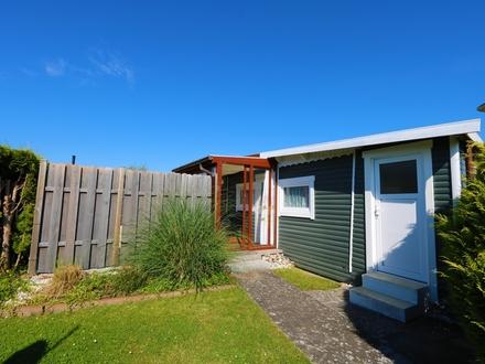 Das Zuhause-Feeling! Mod. Mobilheim auf ca. 150 m² Grundstück mit gr. Terrasse in Lensterstrand
