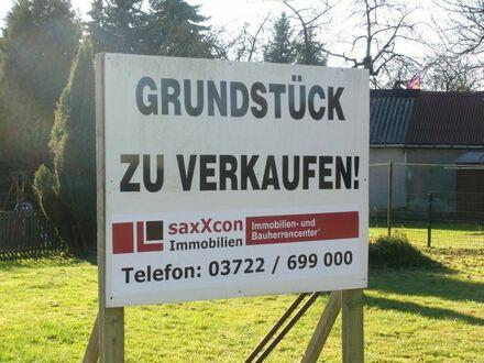 Baugrundstück in Mittelbach - idyllisch wohnen am Stadtrand von Chemnitz