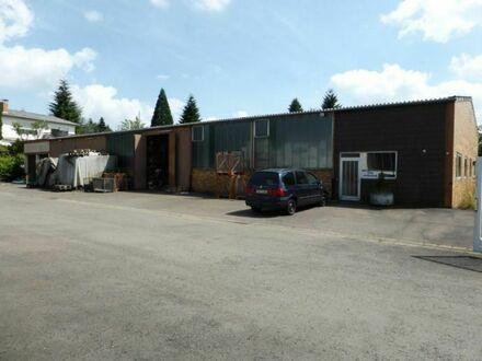 Großzügiges Wohnhaus mit Gewerbehalle in Homburg