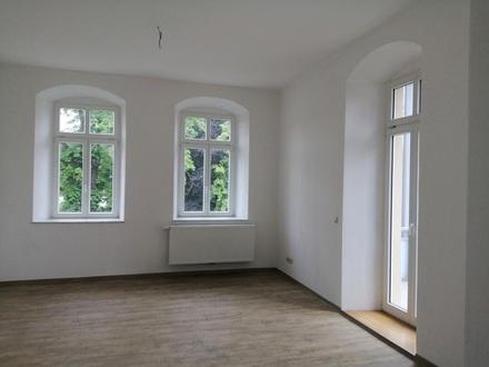 Pulsnitz, 4 Zimmerwohnung mit Balkon