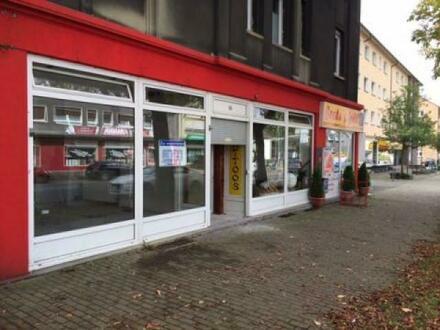 Ladenlokal an stark befahrener Strasse mit Parkbuchten Lünen > Lünen-Süd