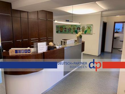 Lohmar-Zentrum: : 120-164 m² Gewerberäume oder evtl. Gewerbe + Wohnen in toller Lage zu vermieten!