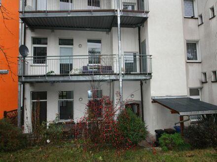 2-Raum mit Terrasse und Einbauküche im Zentrum