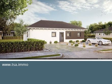 Einfamilienhaus Massivbauweise Bungalow Smart Plus 92 provisionsfrei