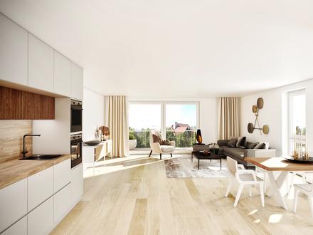 Perfekt für Familien: Moderne 4-Zimmer-Wohnung mit großzügigem Garten!