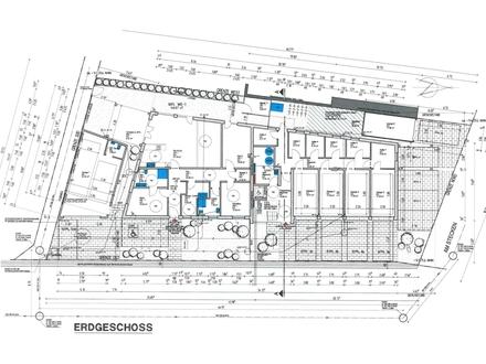 Praxis/Büro gesucht? Barrierefreie EG-WHG, moderne Ausstattung mit Terrasse u. Garten in guter Infrastruktur