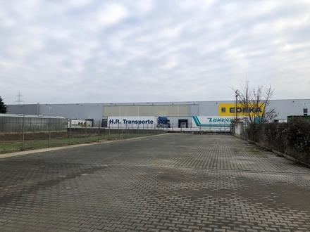 BORNHEIM-ZENTRAL, Gewerbegrundstück, für LKW, Container, Lagerfläche -Strom,- und Wasseranschluss-