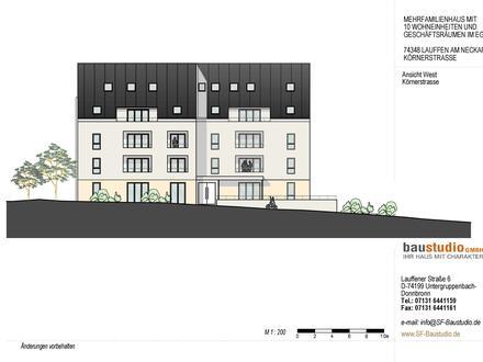 Exclusive 2,5 Zimmer-Designer-Wohnung (DG)