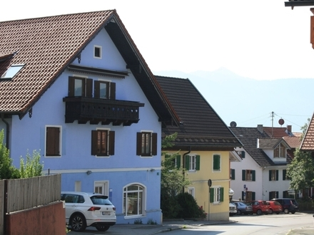 Das BLAUE HAUS in der Altstadt von Murnau