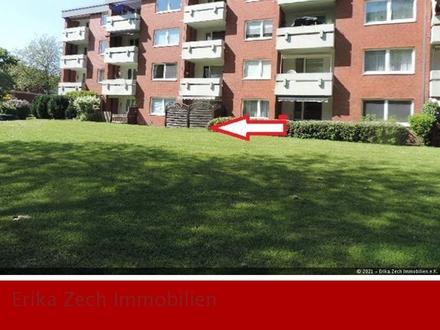 Gut aufgeteilte Wohnung mit Terrasse in 24539 Neumünster