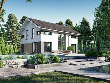 Bebauungsvorschlag - Alles inklusive - Grundstück - Erdwärme KFW 40 & den Grundriss planen Sie :-))