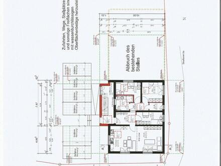 3 neu umgebaute Wohnungen mit Stellplätzen