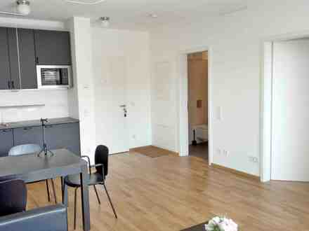 2 Zi./room Apartment möbliert/, furnished, Lift, Balkon/balcony