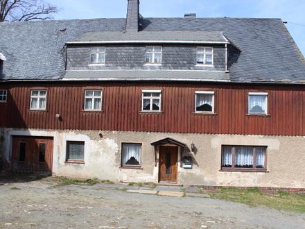 3 Seitenhof mit Wohnhaus, Scheune und Schuppen, in ruhiger Lage, für Hobbys, Selbständige und Handwerk ideal !