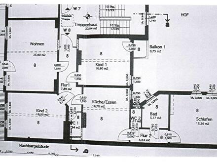 gemütliche 4-Raumwohnung im Dachgeschoss