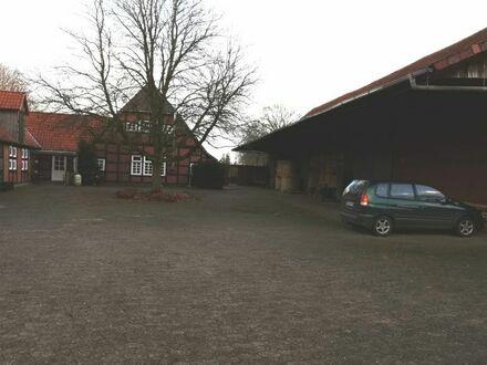 Charmante Bauernhof-Hälfte mit gemeinsamem Grundstück und Pferdehaltung