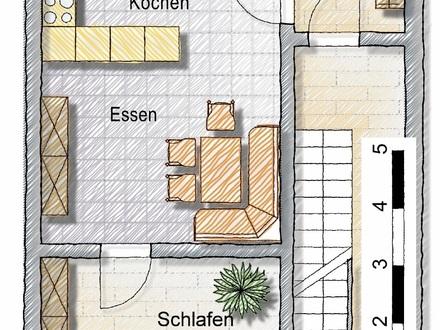 möbilierte 2-Zi-Wohnung