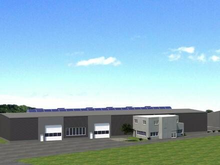 Neue Garagen, Hallenflächen und Büro in Mühlhausen - Nord