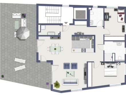 Penthouse-Wohnung: Traumhaft schöne 3-Zimmer-Neubauwohnung mit Ausblick!