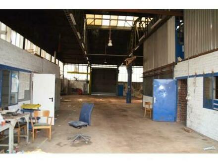Lager- und Produktions Halle in Dortmund zu verpachten.