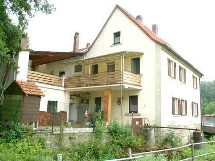 1-2 Familienhaus mit überbautem Innenhof - Königsberg i. Bay. OT