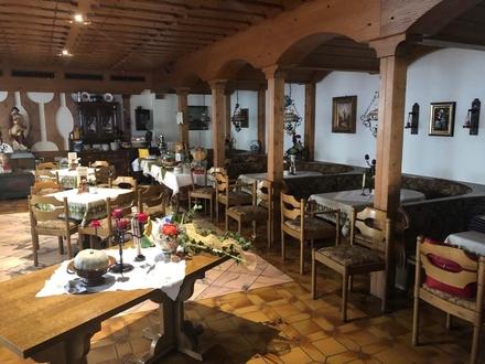 Hotel-Gasthof-Cafe, bestens eingeführt in zentraler Lage