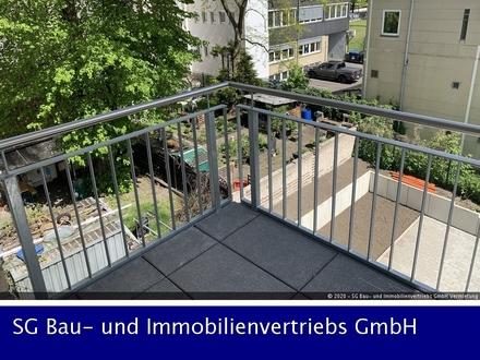 Schicke 2-Zimmer-Wohnung im Neubau mit 2 Balkonen und EBK!